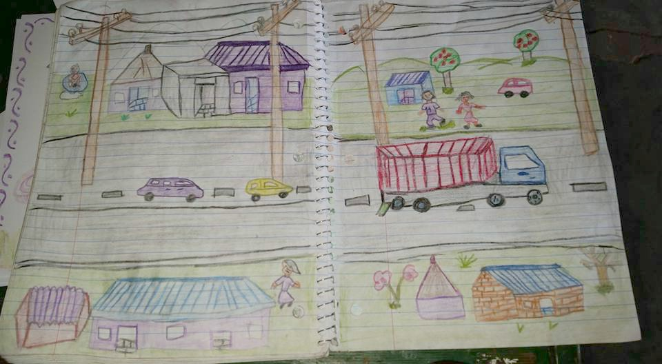 Photo drawn by Harvesters' Joshua Hillary Ayme